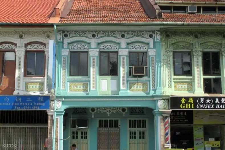 shophouses along geylang